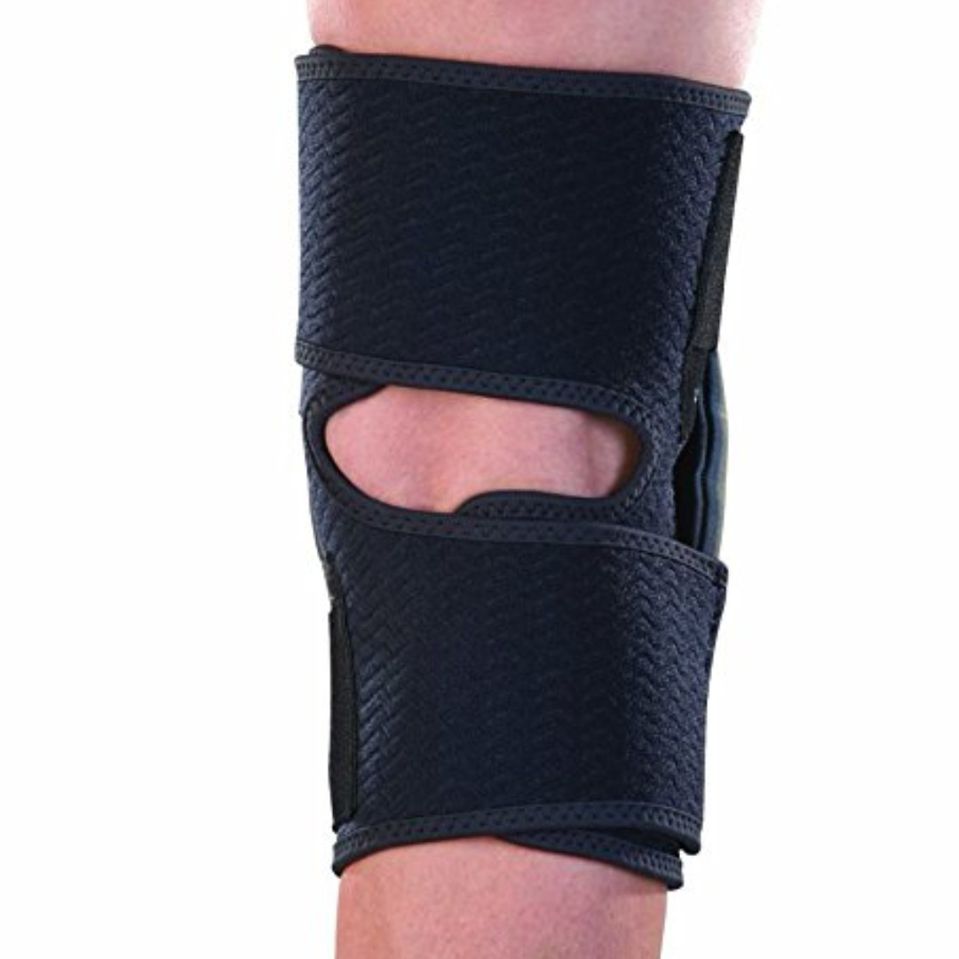 69c3267c75 Mueller Sports Medicine Adjustable Hinged Knee Brace, Black/Gray, One Size  Fits Most, Sports, Other on Carousell