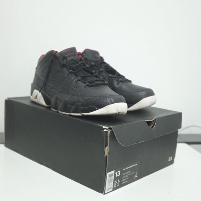 new product 4adf1 3f3f4 MUST GO BY 18-FEB‼️ Nike Air Jordan 9 Low Bred Size [13US ...