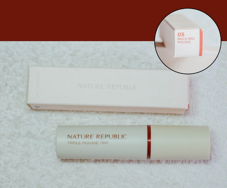 NATURE REPUBLIC BRICK RED LIP TINT