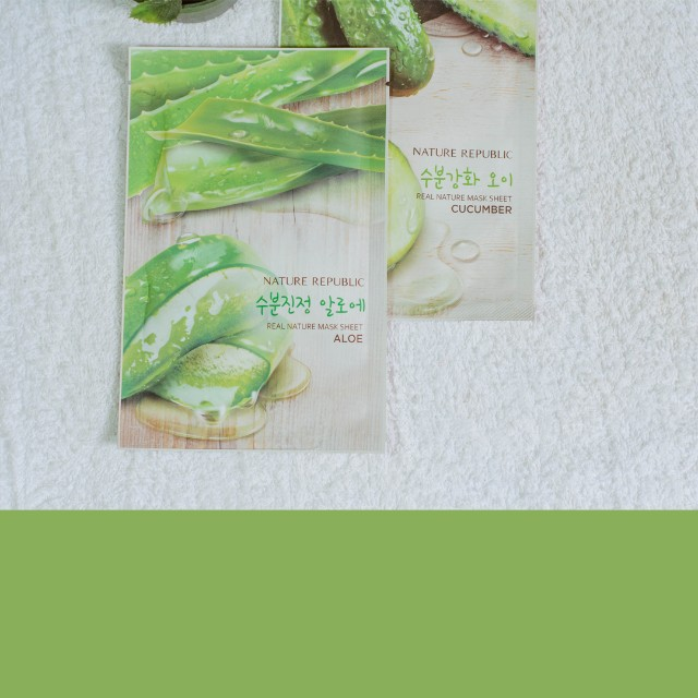 NATURE REPUBLIC FACE MASK FROM KOREA