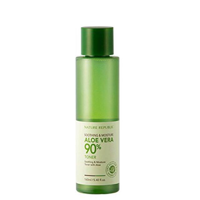 Nature Republic Soothing and Moisture Aloe Vera 90% Toner (160 ml)
