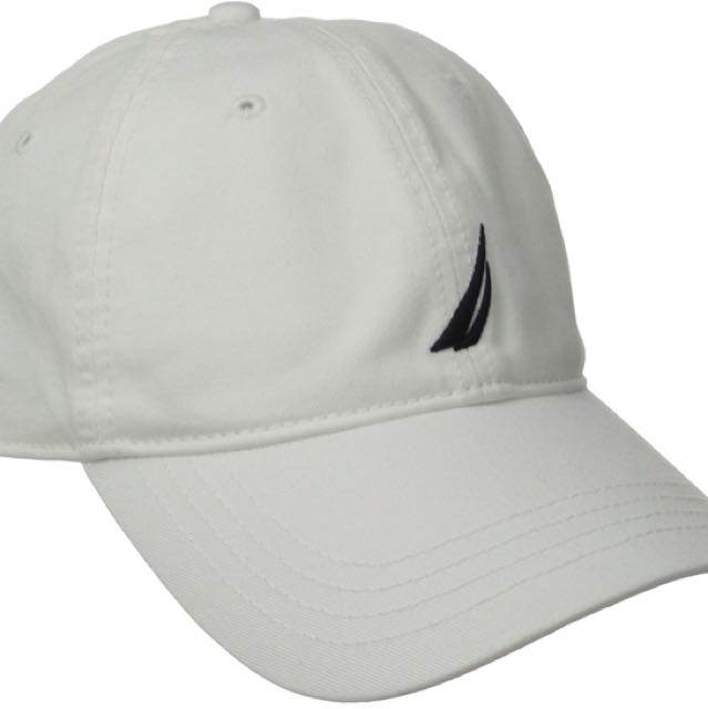 Nautica white cap never worn