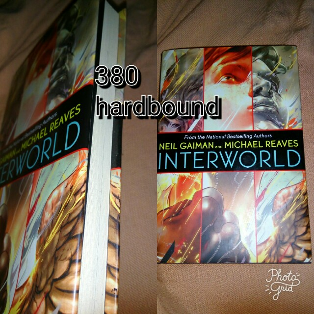 Neil Gaiman: interworld hardbound