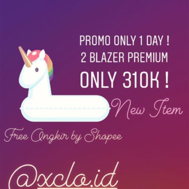 NEW Promo Jas Blazer Premium Import Murah