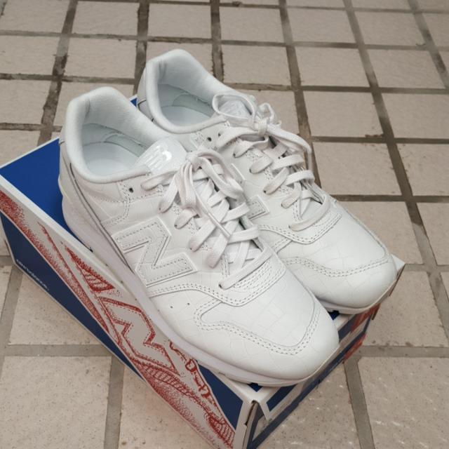 👍真品newbalance白布鞋996