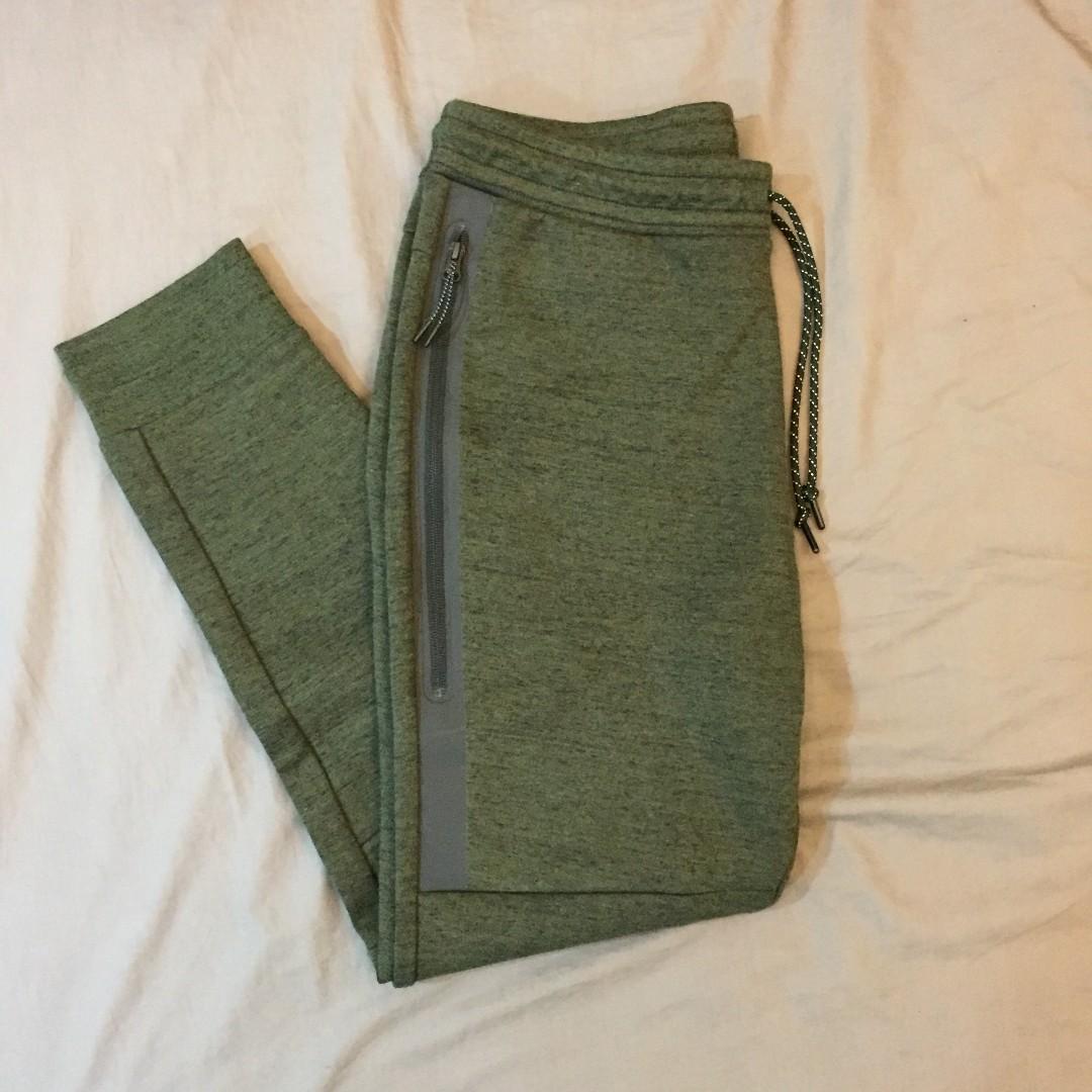 Nike Tech Fleece Pants Joggers Olive Green 科技棉褲 橄欖綠