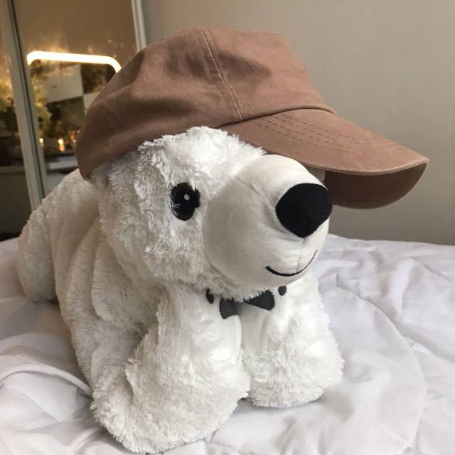 Nude/camel/tan cap