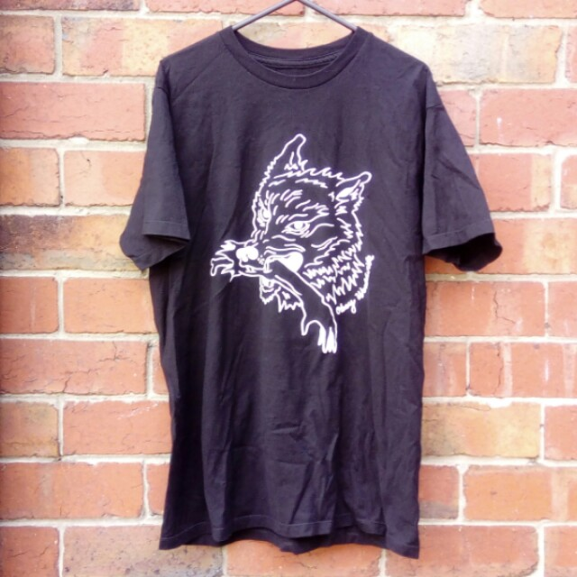 Obey wolf tattoo tee | Size M
