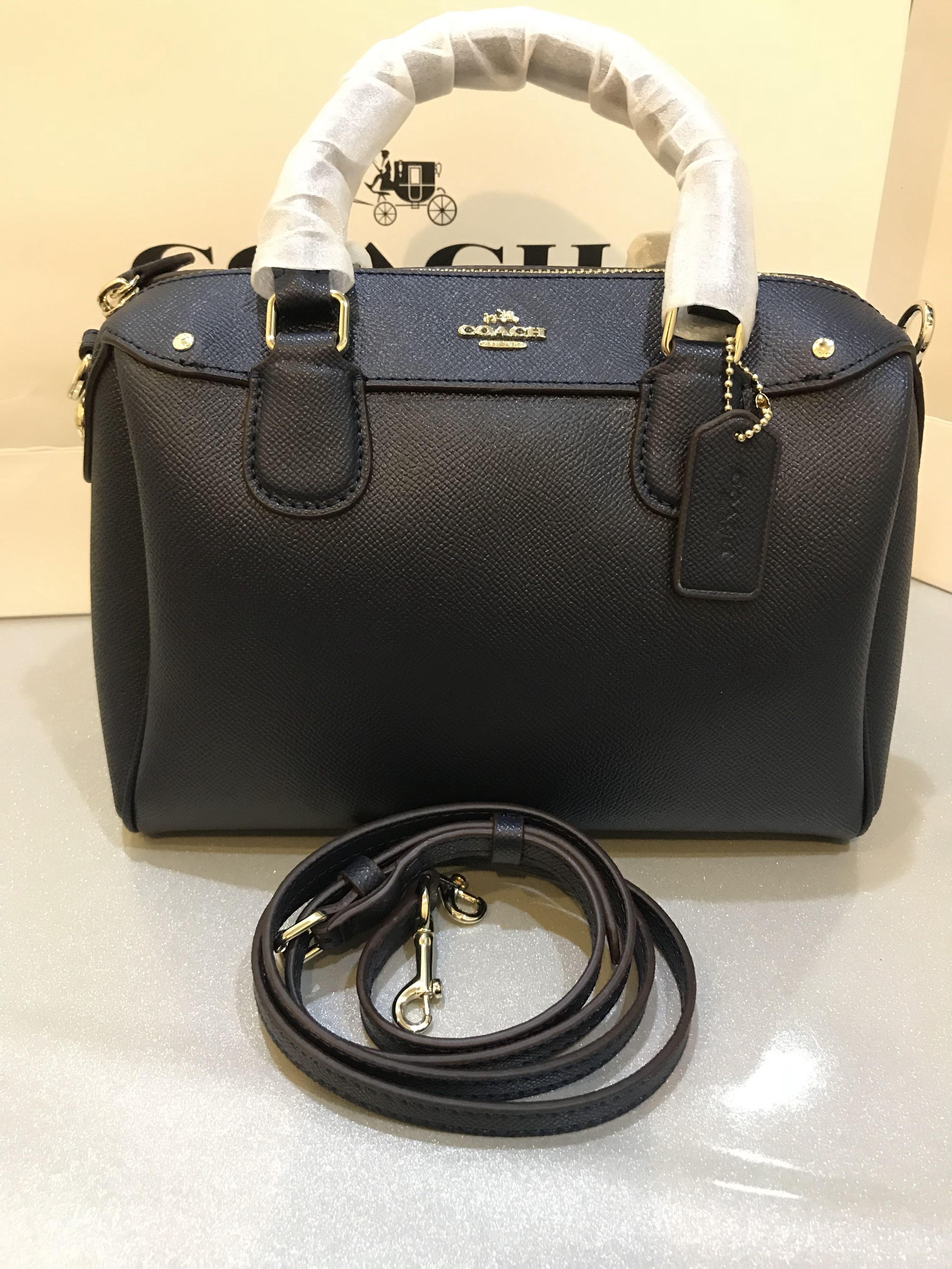 3f32fe8ebddfb Original coach women Handbag sling bag mini Bennett