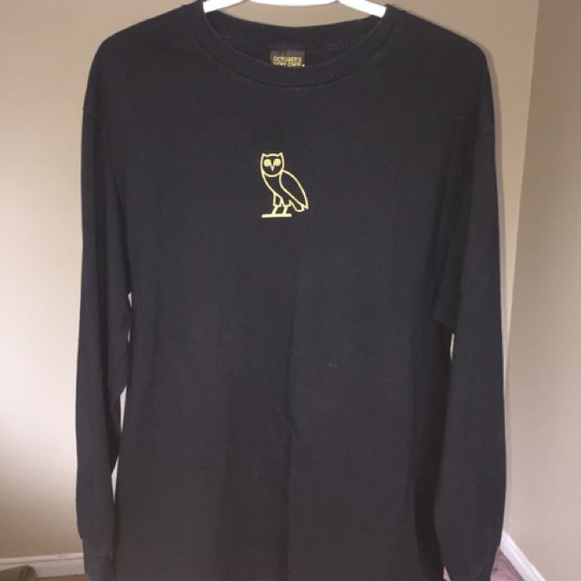 Ovo owl logo long sleeve