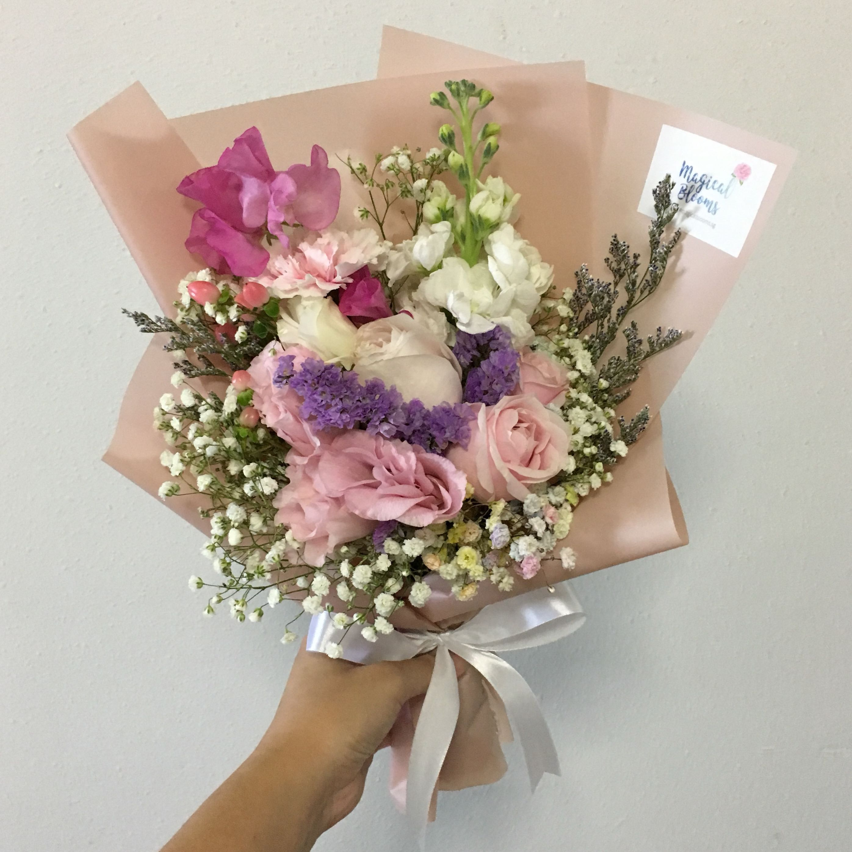 Pastel mix flower bouquet of roses and mix fillers bulletin board pastel mix flower bouquet of roses and mix fillers bulletin board preorders on carousell izmirmasajfo