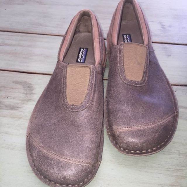 Patagonia Men's Leather & Canvas Loafers Size US8.5 BNWOT