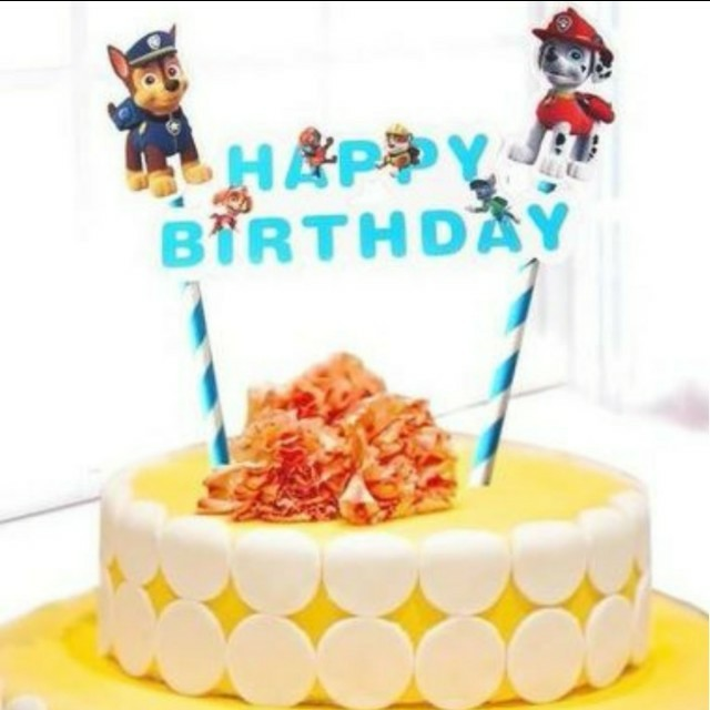 Paw Patrol Birthday Cake Topper Design Craft Others On Carousell