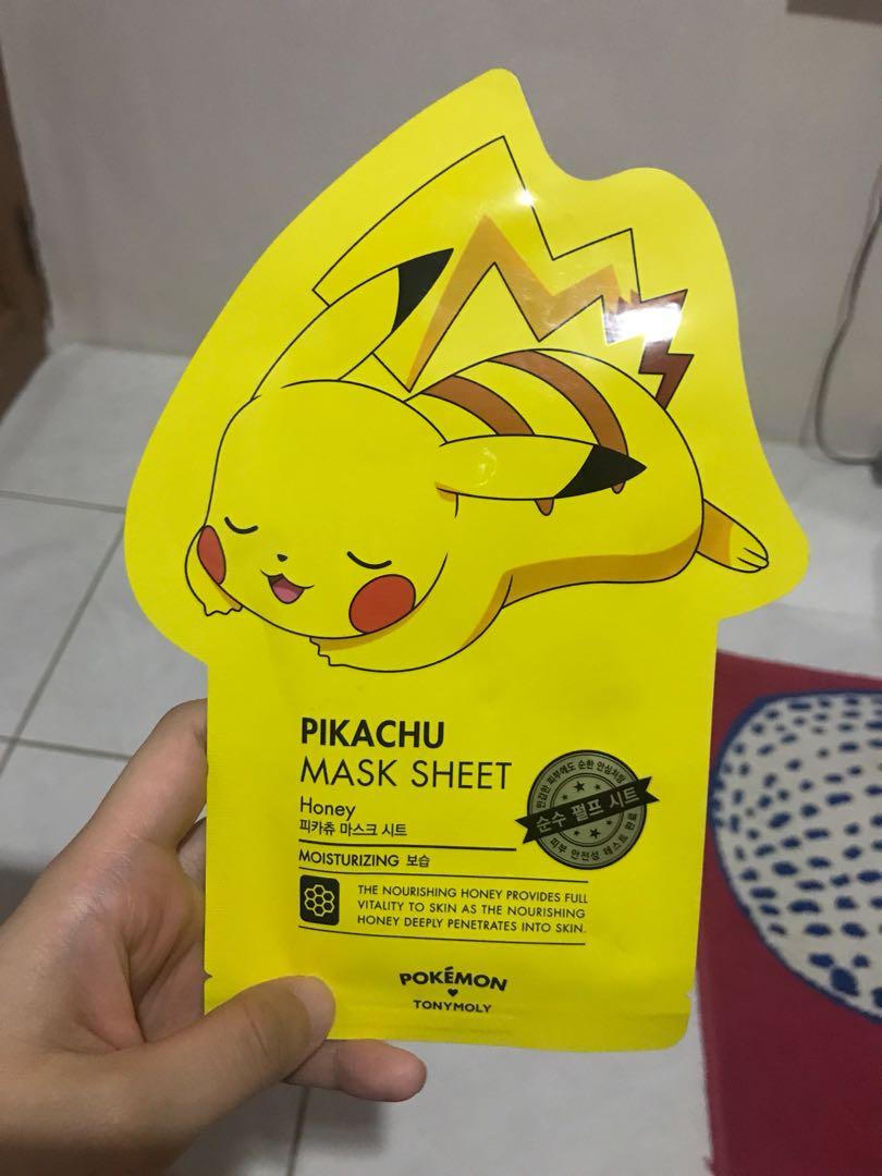 Pikachu mask Tony Moly