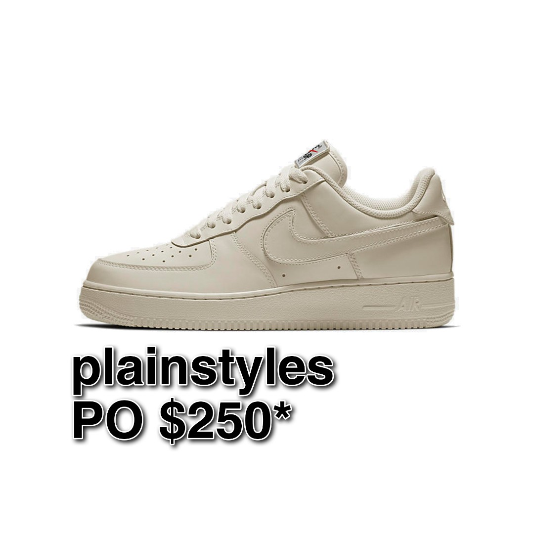 1d3579248c09 PO  Nike Air Force 1 Swoosh Pack Sail
