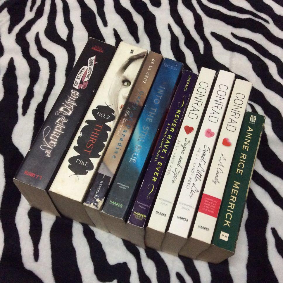 Preloved books for sale‼️📚