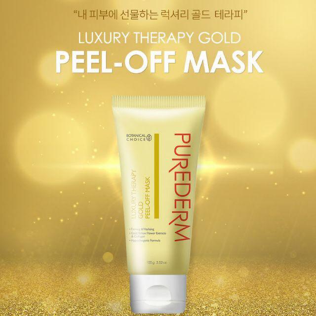 Purederm gold peel off mask