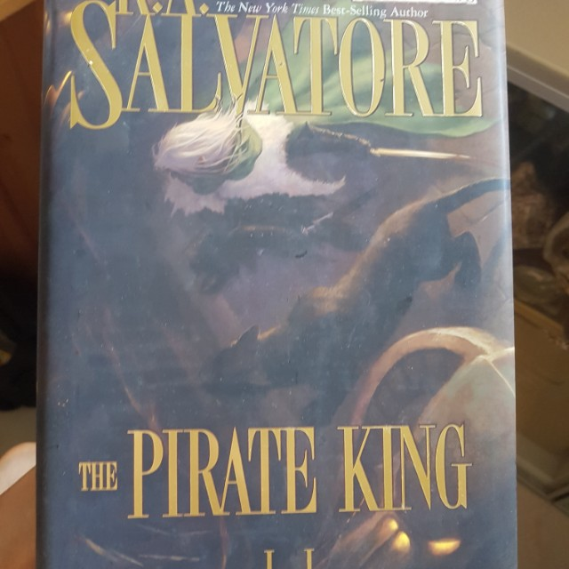 R A Salvatore The Pirate King Forgotten Realms novel