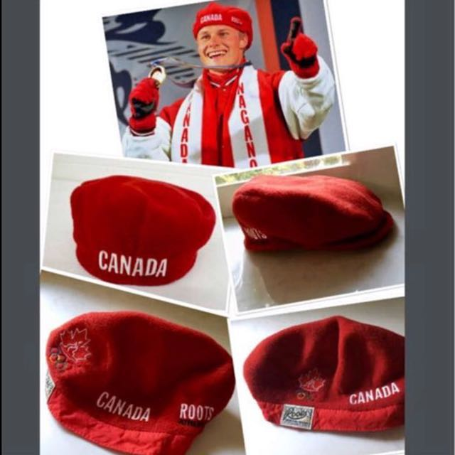 ROOTS OLYMPIC RED HAT(large)