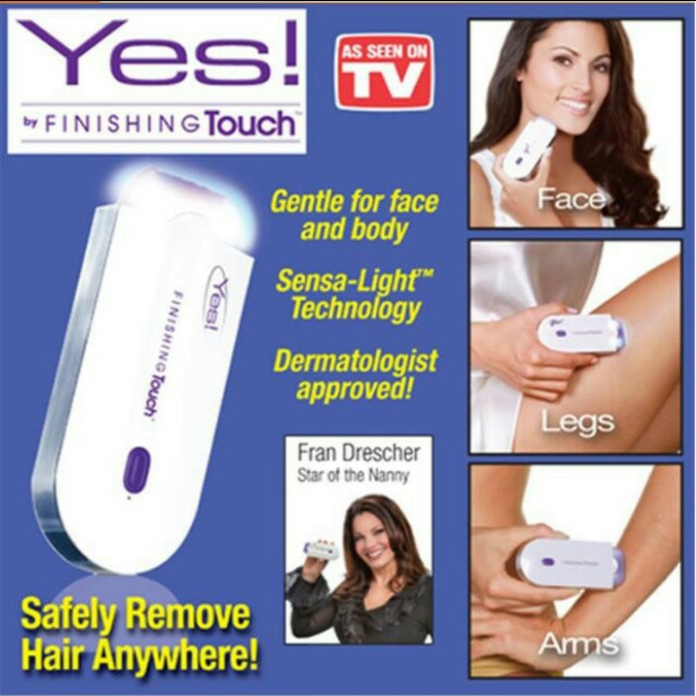 Rotary Epilator finishing touch hair remover instant shaver