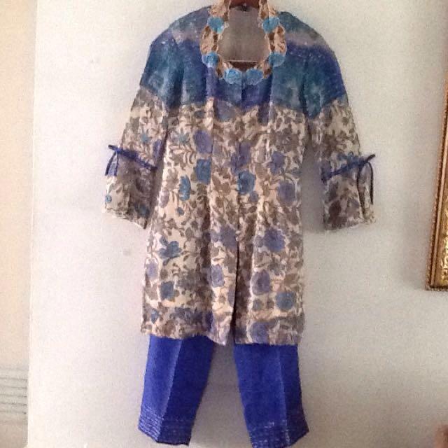 Stelan Kebaya Modern & Pant