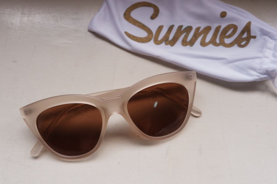 Sunnies White Sunglasses