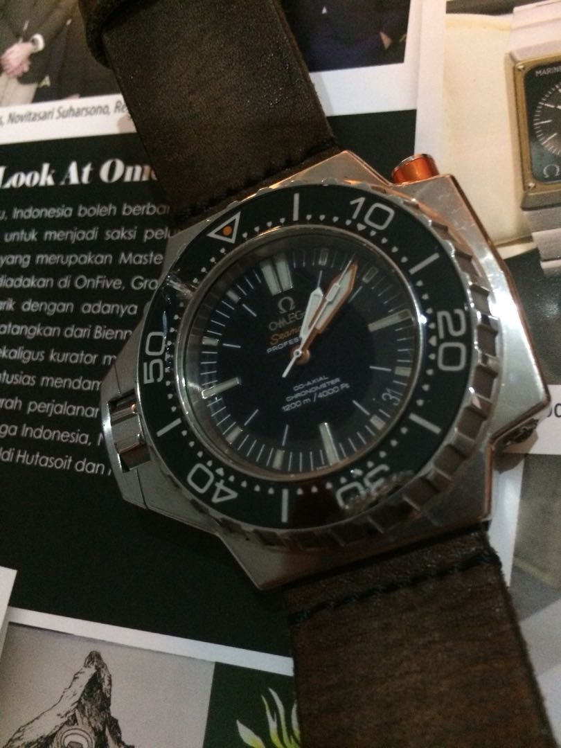 Super Rare!  the Seamaster Ploprof 1200M Omega Co-Axial 55 x 48 mm