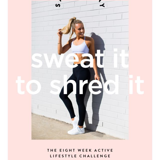Sweat it to shred it- Sarah's day ebook