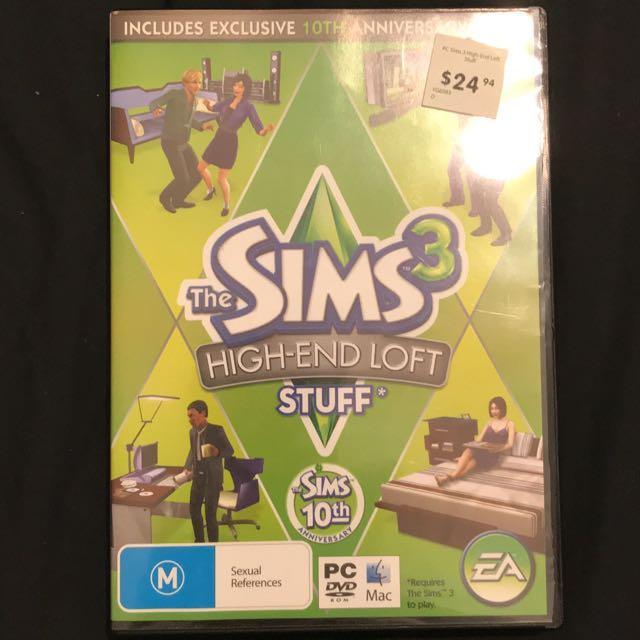 The Sims 3: High-End Loft Stuff (PC & MAC)