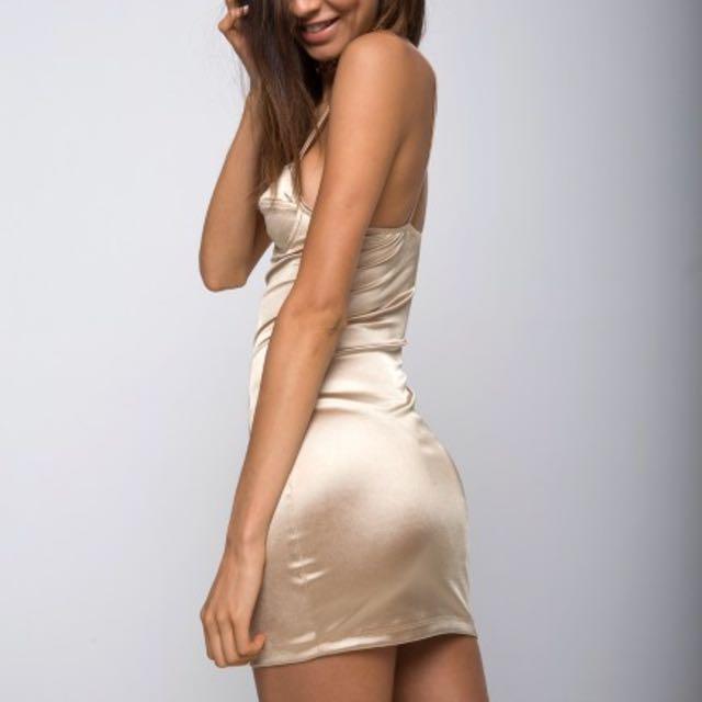 Tigermist Silk Dress