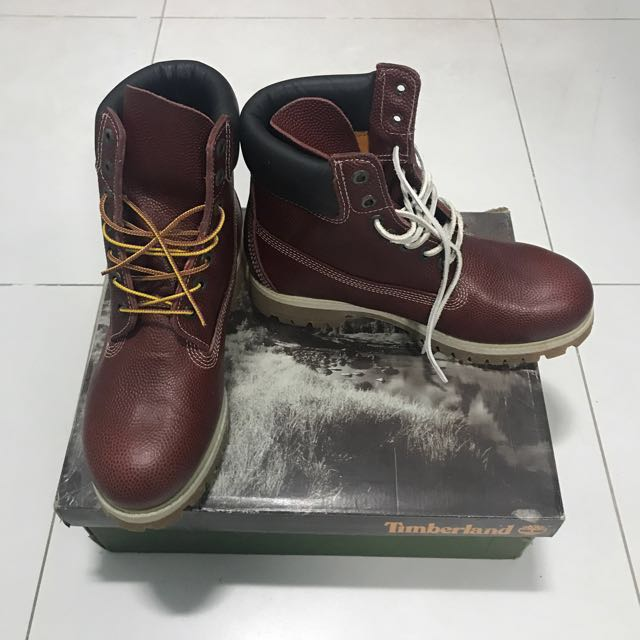 Timberland Boots Oxblood/Bord 6 In Prem
