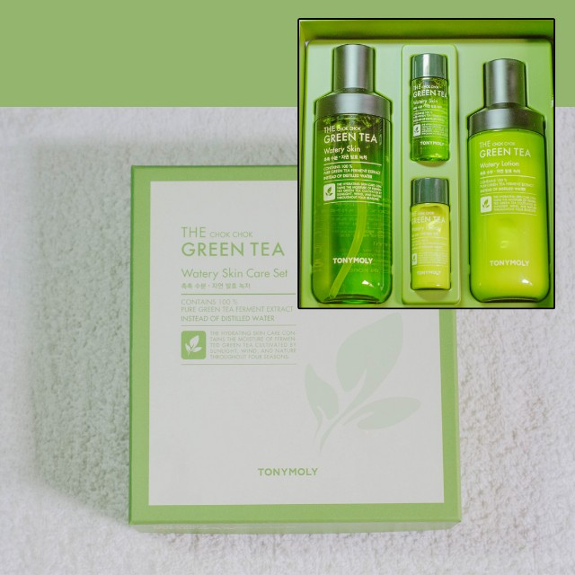 TONY MOLY WATERY SKIN CARE SET
