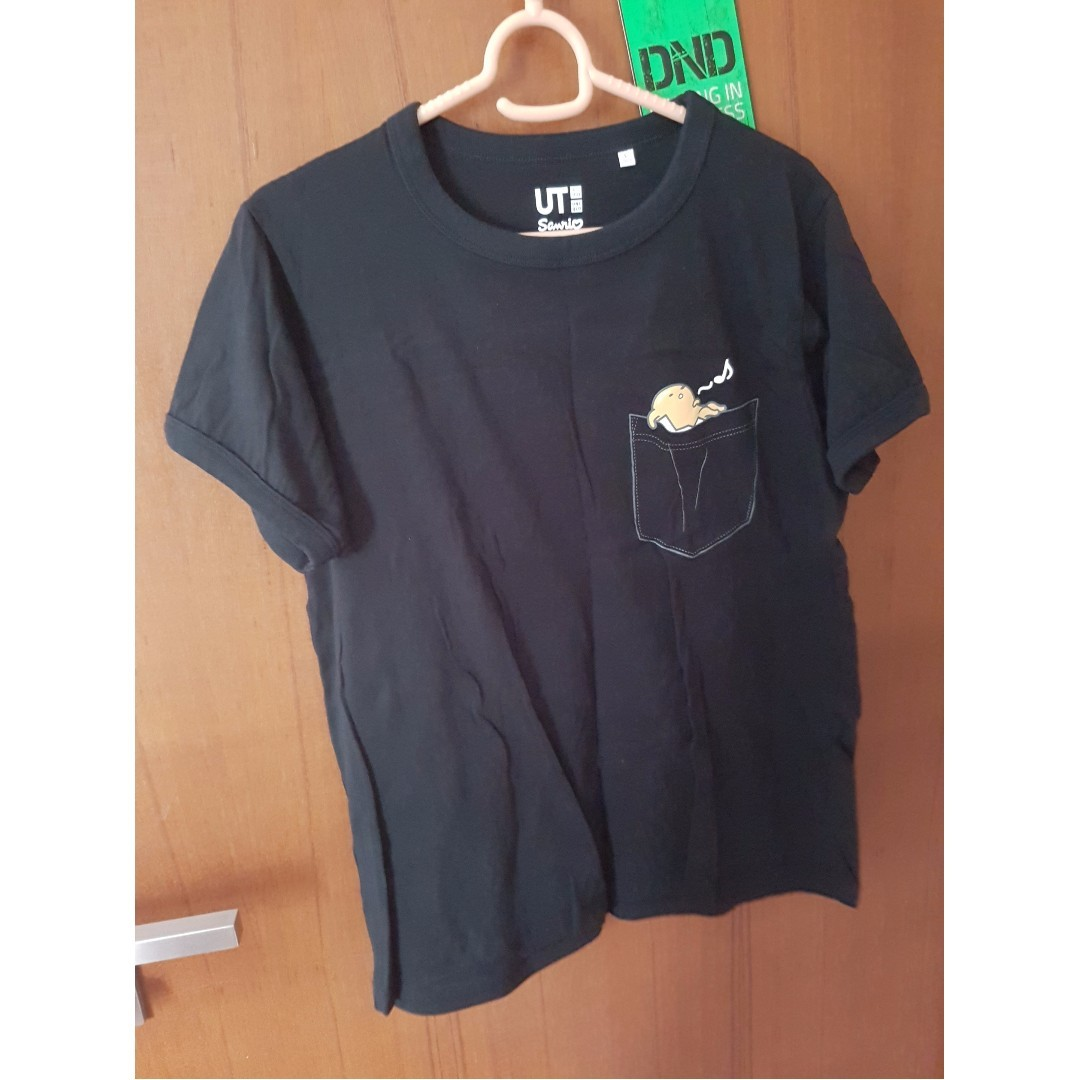 96436091 Uniqlo Gudetama T-Shirt, Women's Fashion, Clothes, Tops on Carousell