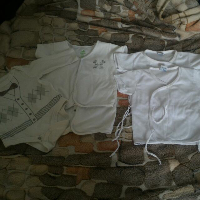 White Baby Tops And Onesies