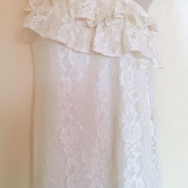 White dresses take all