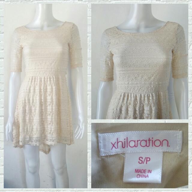Xhilaration Lacey Boho Dress