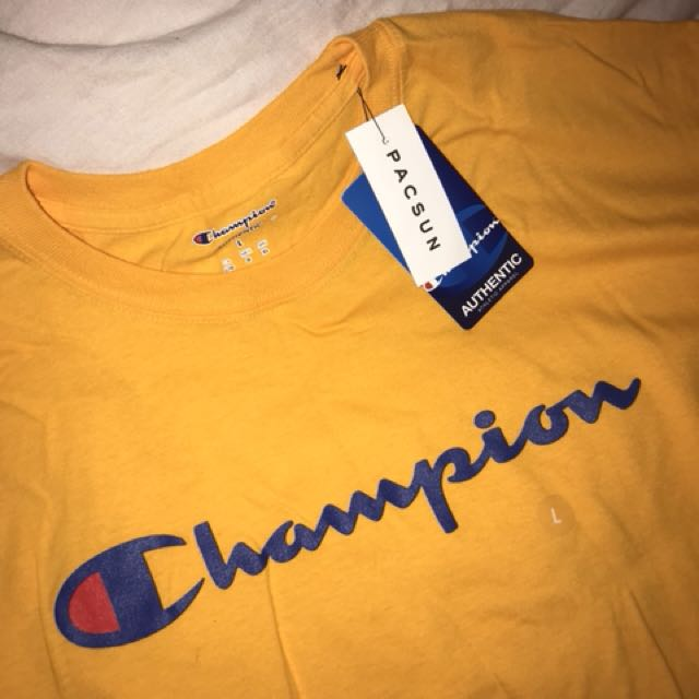 Yellow Champion Top