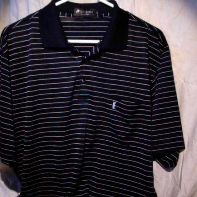 Yves Saint Laurent- striped shirt