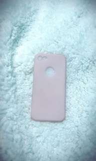 iPhone 7 pink jelly case