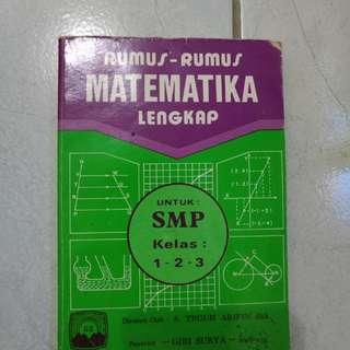 Rumus-Rumus Matemarika Lengkap Untuk SMP Kelas 1-3