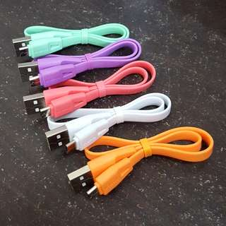 KABEL CHARGER ANDROID 30CM