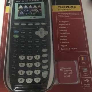TI-84 Plus C SE Graphing Calculator