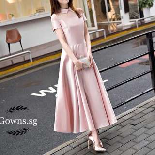 Sweet Collar Gown
