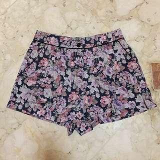 Topshop floral short
