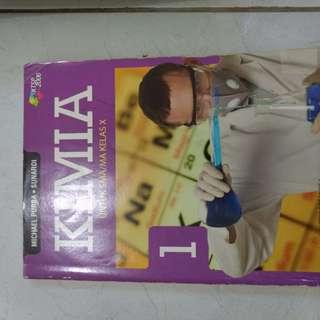 Buku Kimia Untuk SMA/MA Kelas 10