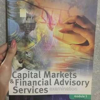 Capital Markets & Financial Advisory Services