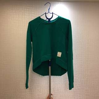 A&F - Green sweater