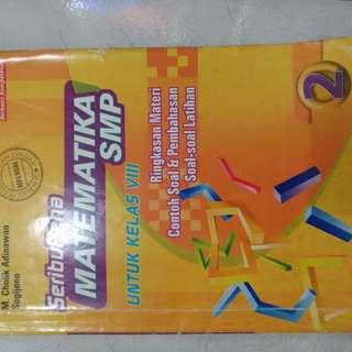 Buku SeribuPena Matematika SMP Untuk Kelas 9