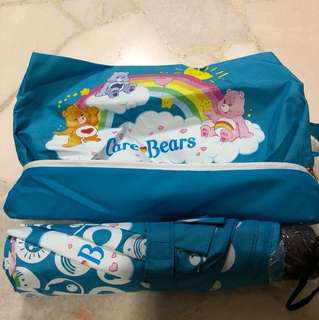 Care bear umbrella and carrier