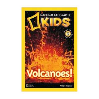 SALE! BRAND NEW Volcanoes! (National Geographic Readers) Paperback